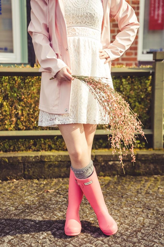 Das perfekte Gummistiefel Outfit