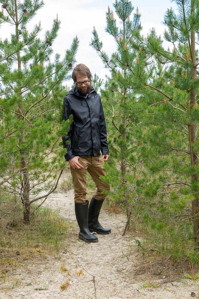 Decathlon Wandergummistiefel Ostsee Wald