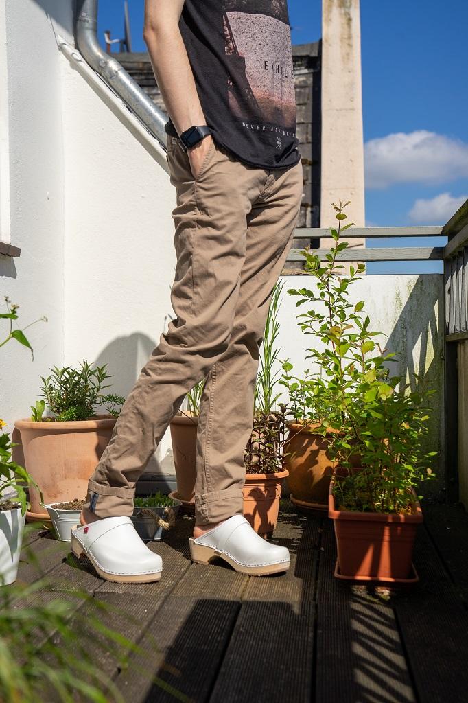 Klox Holzclogs Herren Outfit