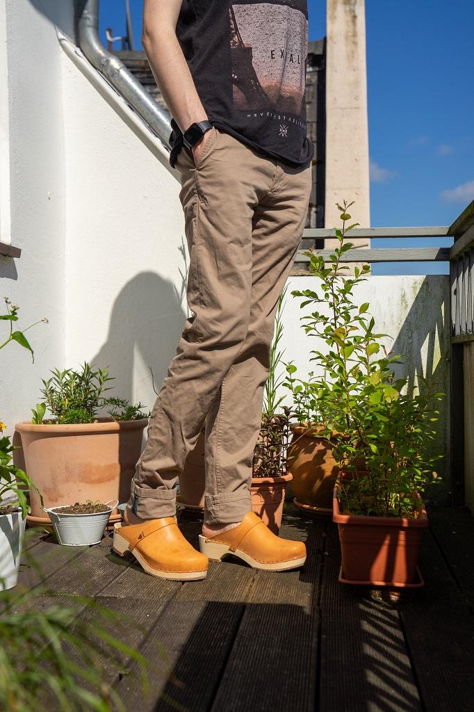 Sandgrens Holzclogs Herren Outfit