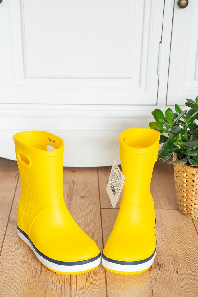 Crocs Gummistiefel für Kinder Gelb