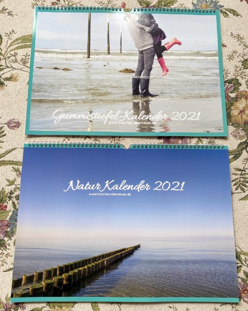 Hasches Abenteuer Kalender 2022 Gummistiefel Natur