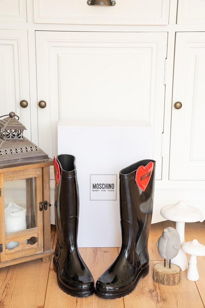 Moschino Stiefel Kinder Designer