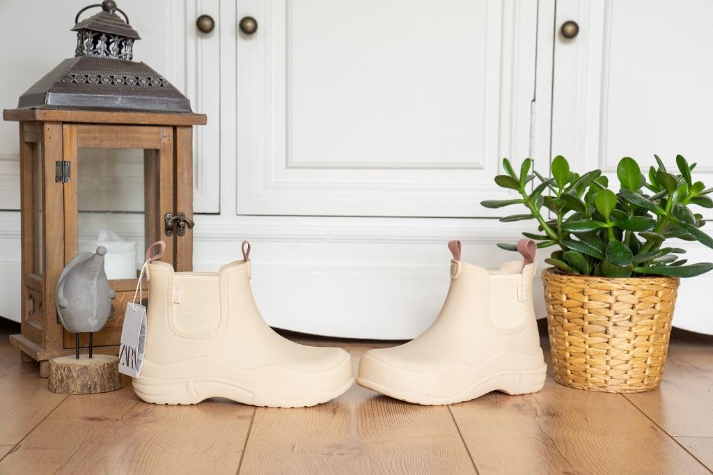 Zara Chunky Boots Stiefelette