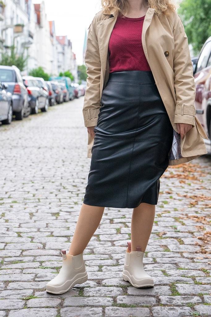 Zara Gummi Boots Designer Bottega Veneta Puddle Style