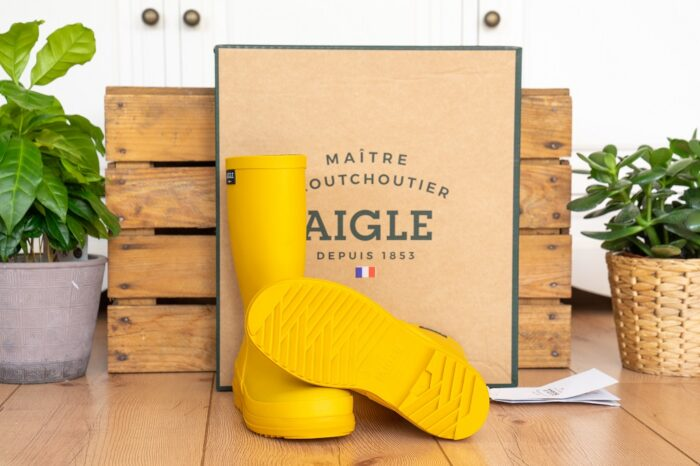 Aigle French Lolly Regenstiefel Sohle