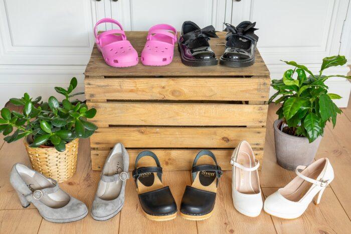 Mary Jane Schuhe Pumps Clogs Ballerinas Spanenschuhe